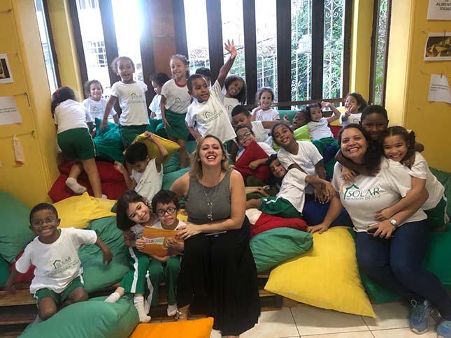 Downadinha nas Escolas - Centro Cultural Cesgranrio