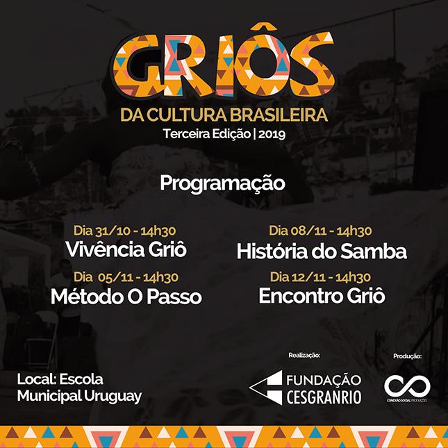 Griôs da cultura Brasileira - Cesgranrio