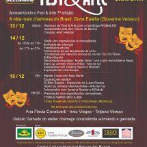 Dedicado às artes cênicas, o festival Fest & Arte chega à sua 7ª edição