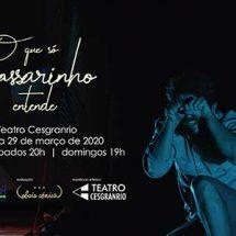Teatro Cesgranrio apresenta peça que mistura teatro, poesia e interação com o público