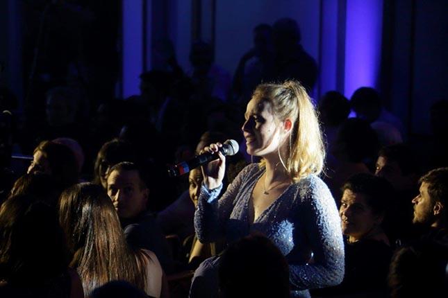 Malu Rodrigues no Prêmio Cesgranrio de Teatro 2018