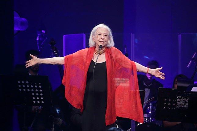 Fernanda Montenegro no Prêmio Cesgranrio de Teatro 2018